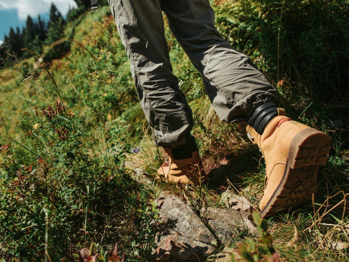Timberland boots hiking