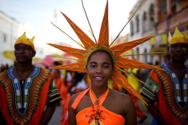 Carnival, Les Cayes, Haiti - 28 Feb 2017