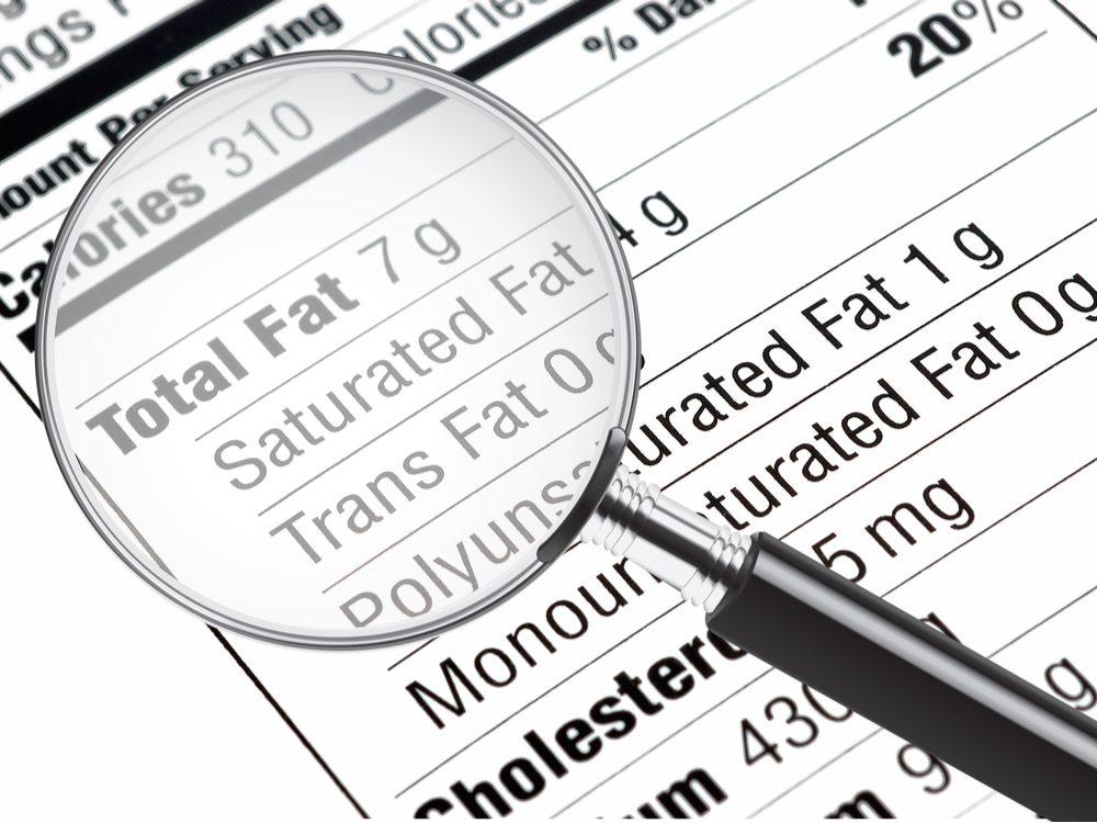 heart health total fat