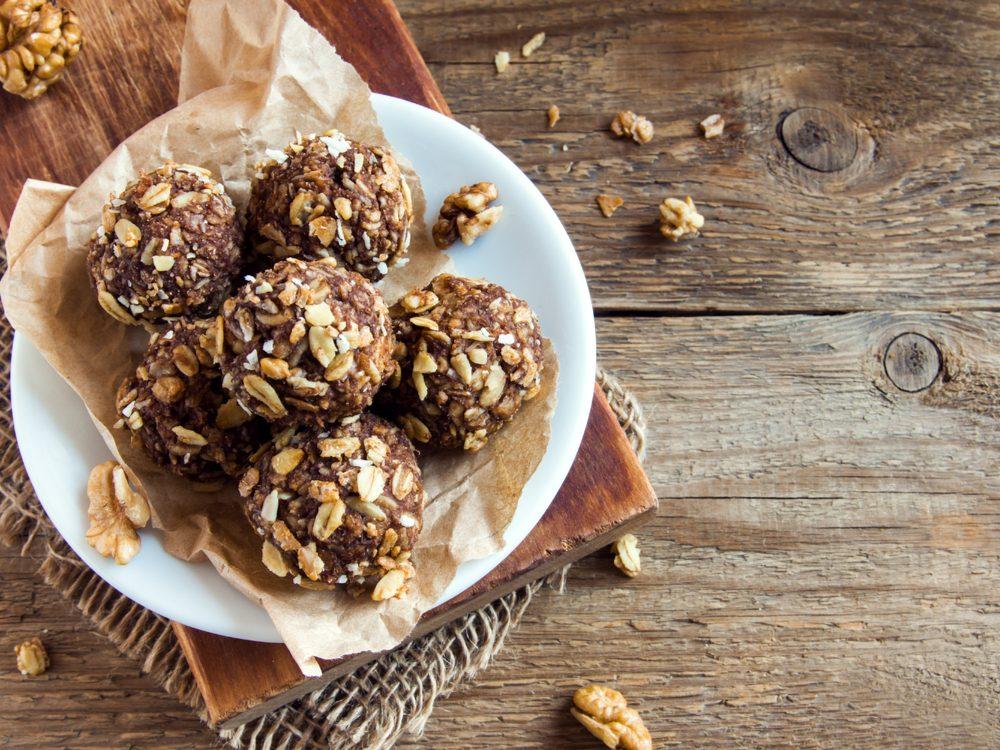 heart health homemade energy snacks