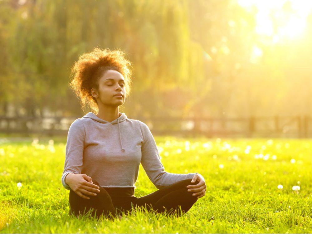 heart health meditating