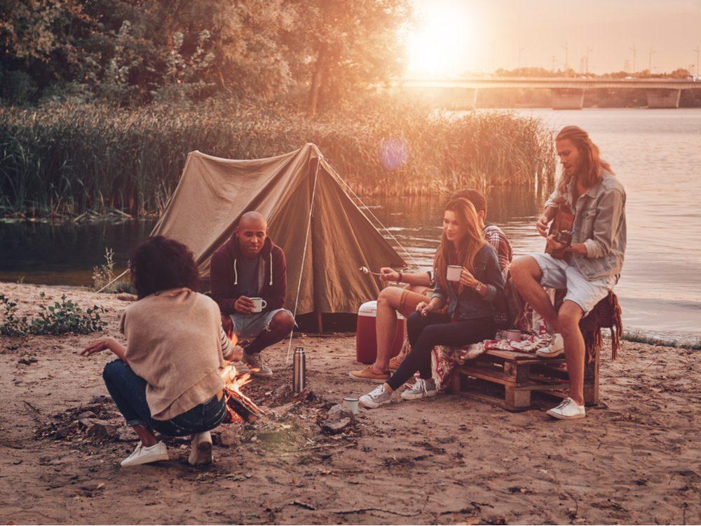 heart health camping