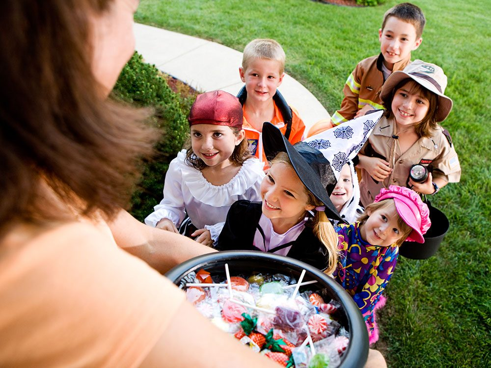Outrageous news stories - Trick or Treat Ban