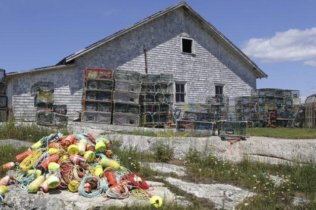 Peggy's Cove, Nova Scotia, Canada - 16 Jul 2016