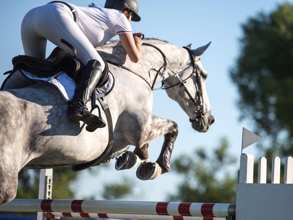 Female equestrian