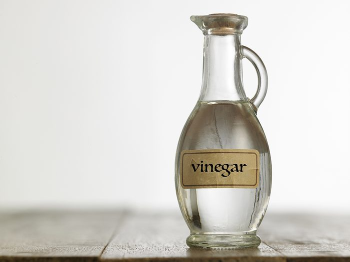 What to do with old corks - vinegar bottle