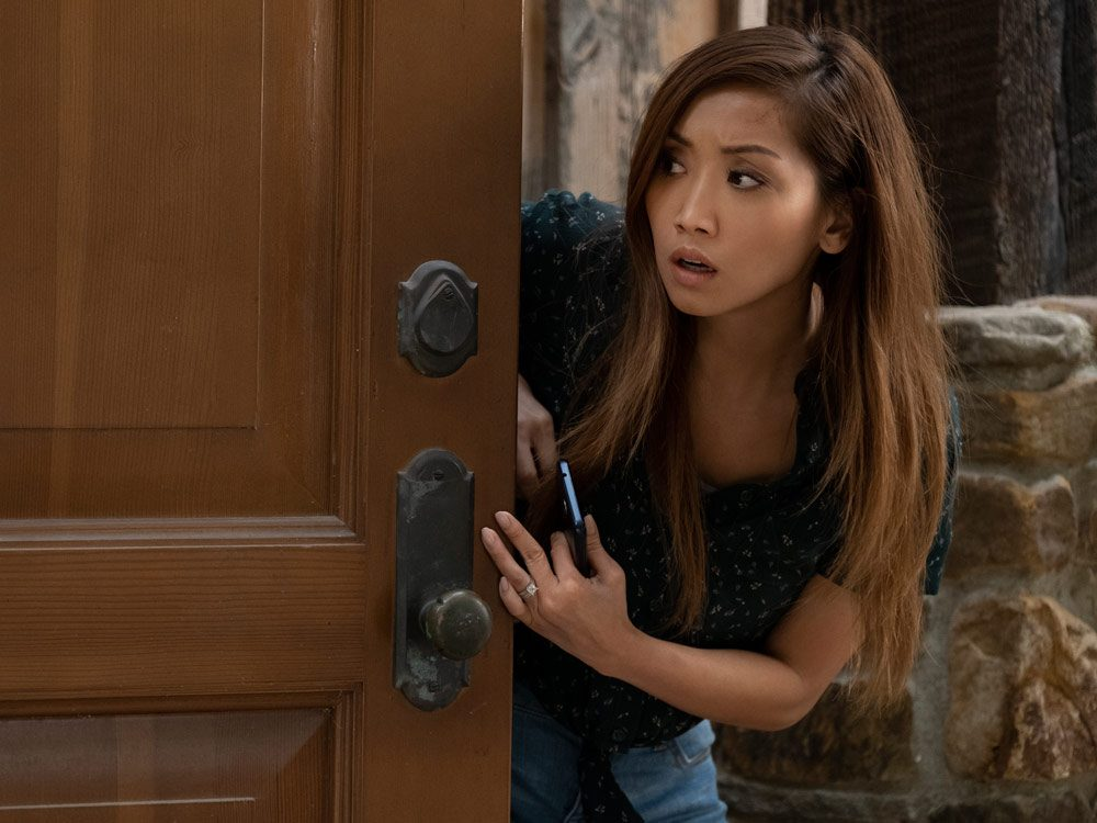 Actress Brenda Song