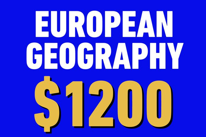 european geography 1200