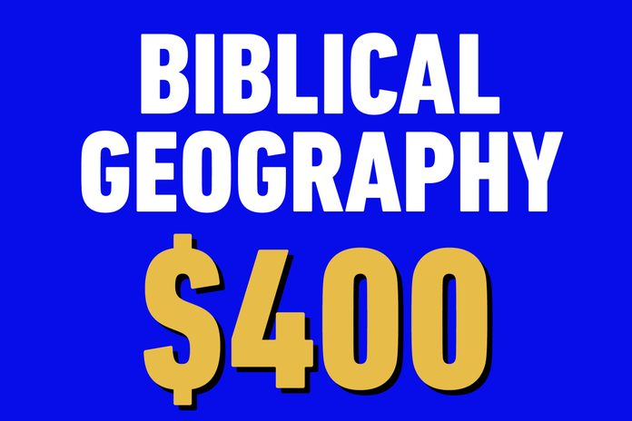 biblical geography 400