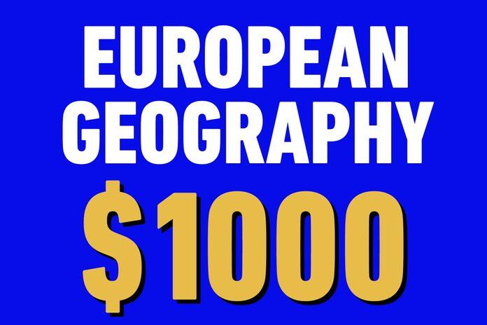 european geography 1000