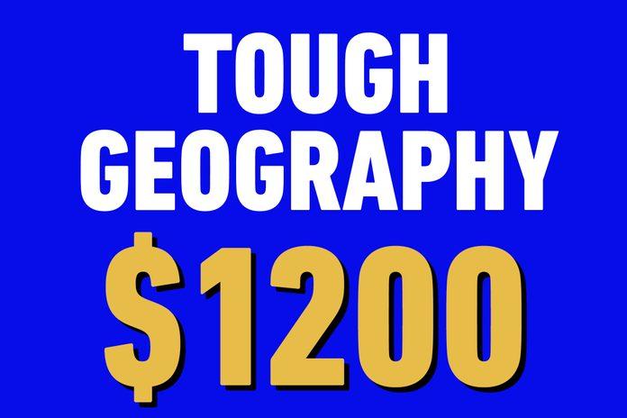 tough geography 1200