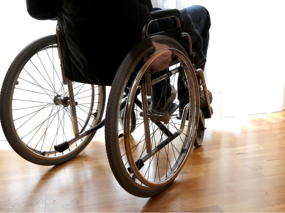 NFWM ALS wheelchair