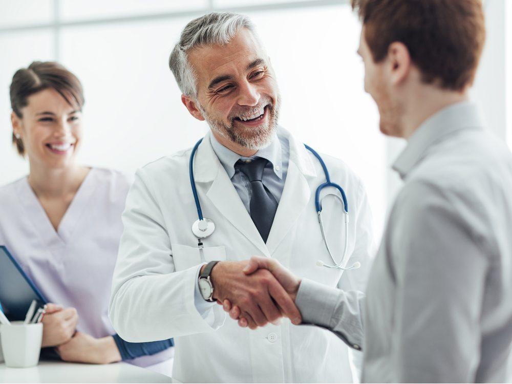 NFWM happy doctor