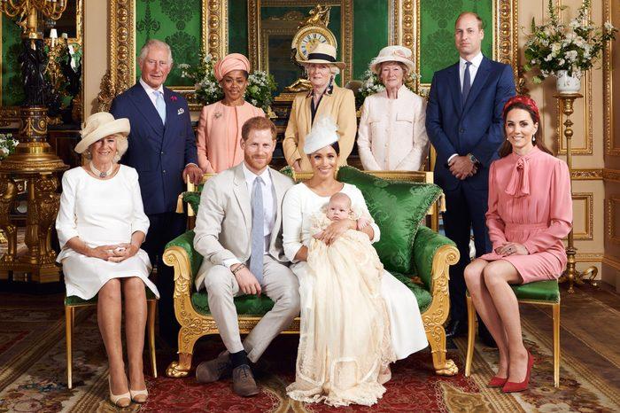 Royal Baby Archie Mountbatten-Windsor Christening