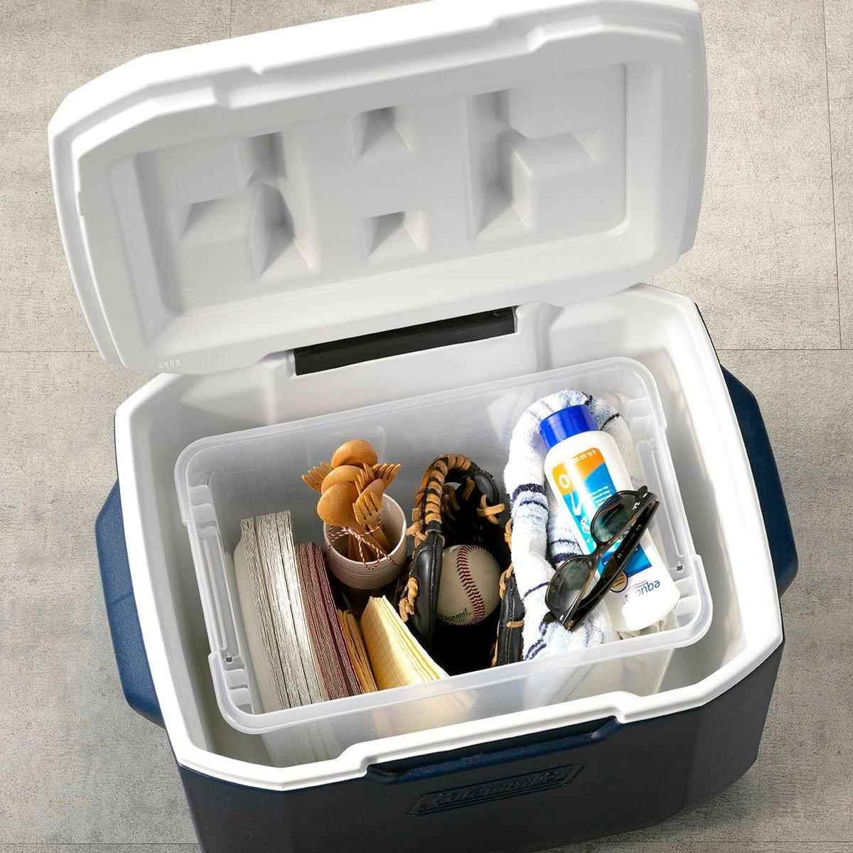 THGKH19, Kitchen Hack Storing tailgate essentials