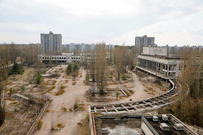 Chernobyl Aftermath, Pripyat, Ukraine - 05 Apr 2017