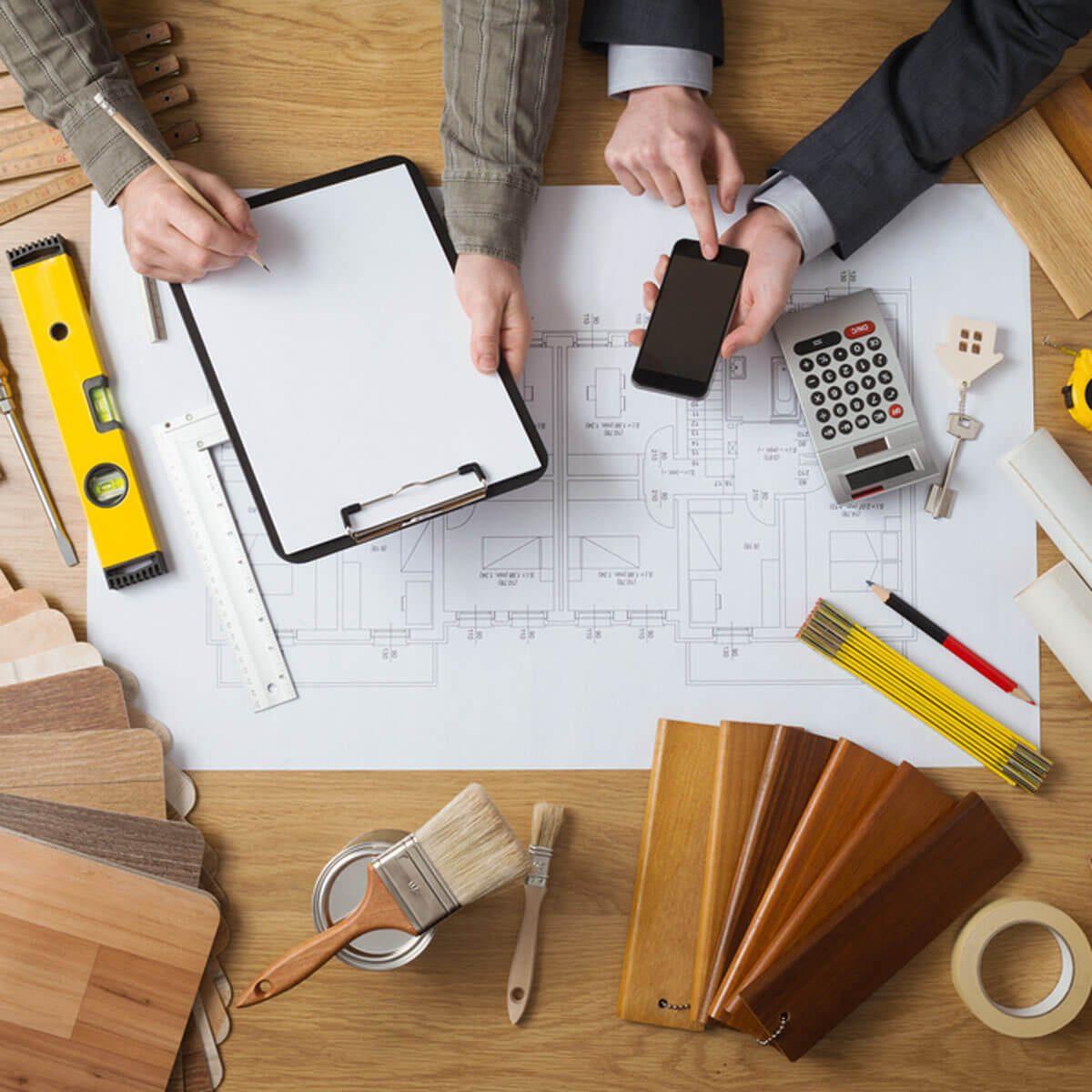 dfh11_shutterstock_273322664-blueprints-1200x1200 DIY projects home inspector remodel plans estimate