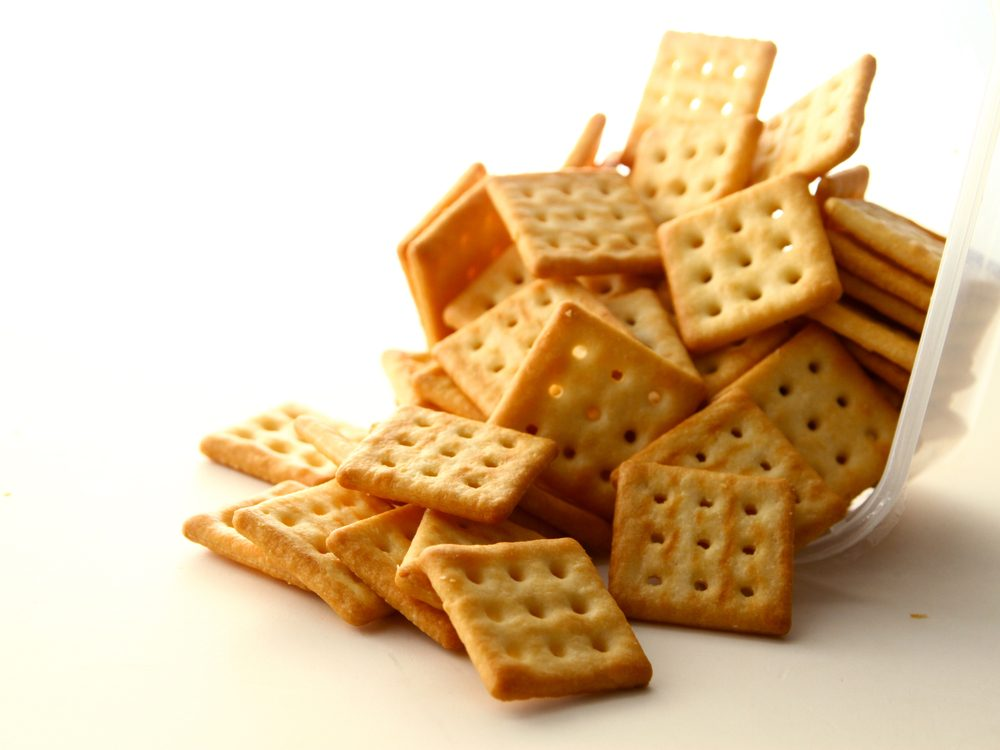 food tweets crackers