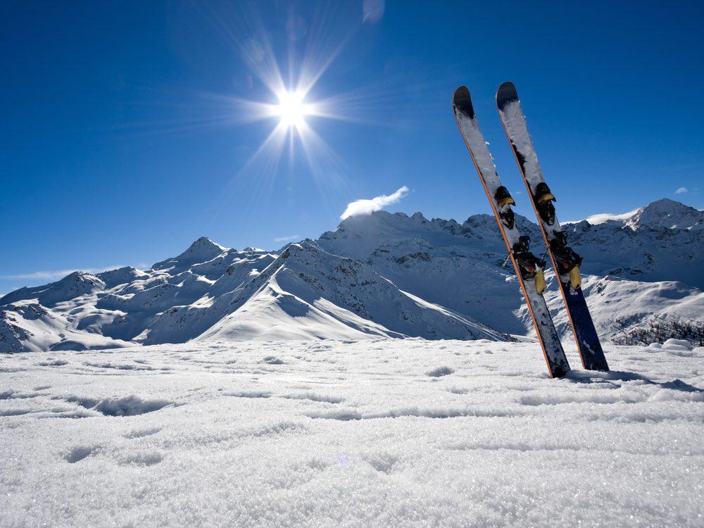 Winter skiis