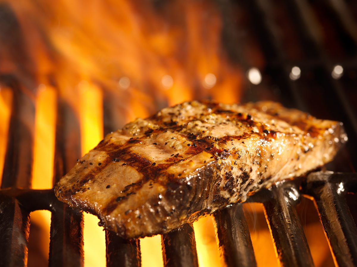 Grilling tips - grilled salmon