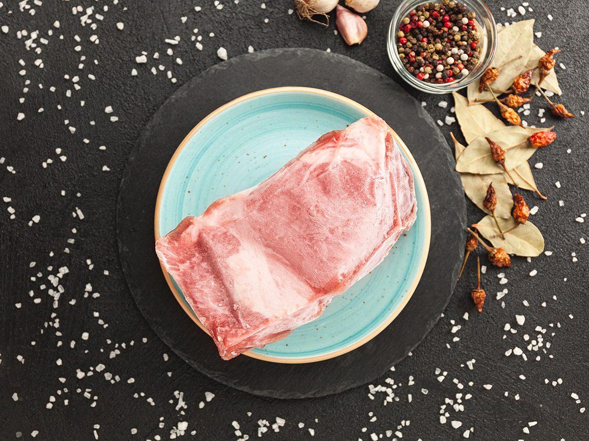 Grilling tips - thawing frozen steak