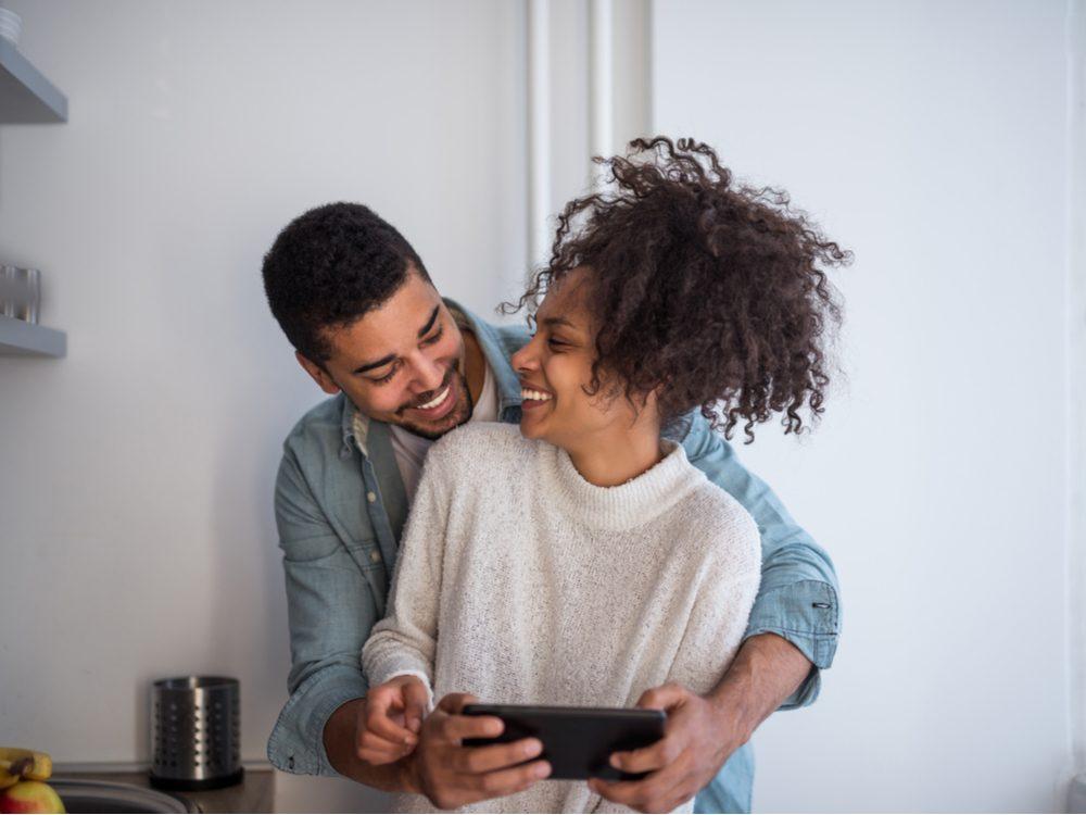 improve relationship happy couple