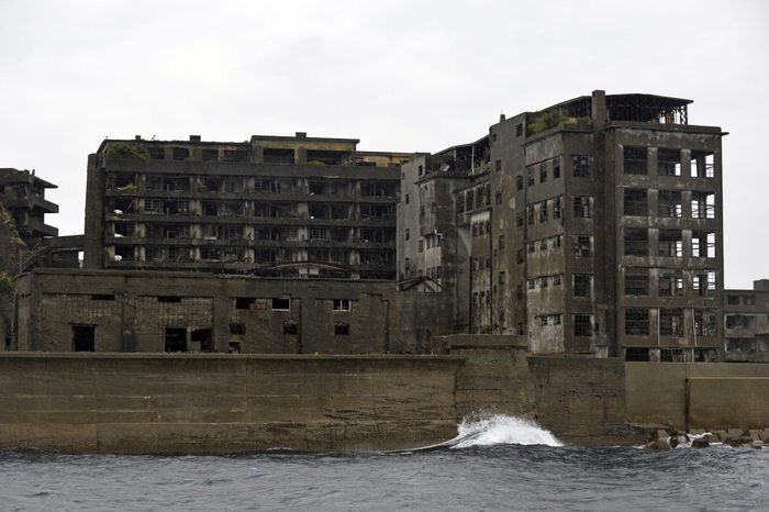 Japan Battleship Island - Dec 2013