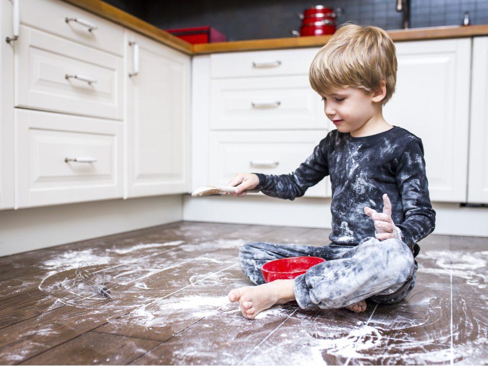 kid jokes messy kid