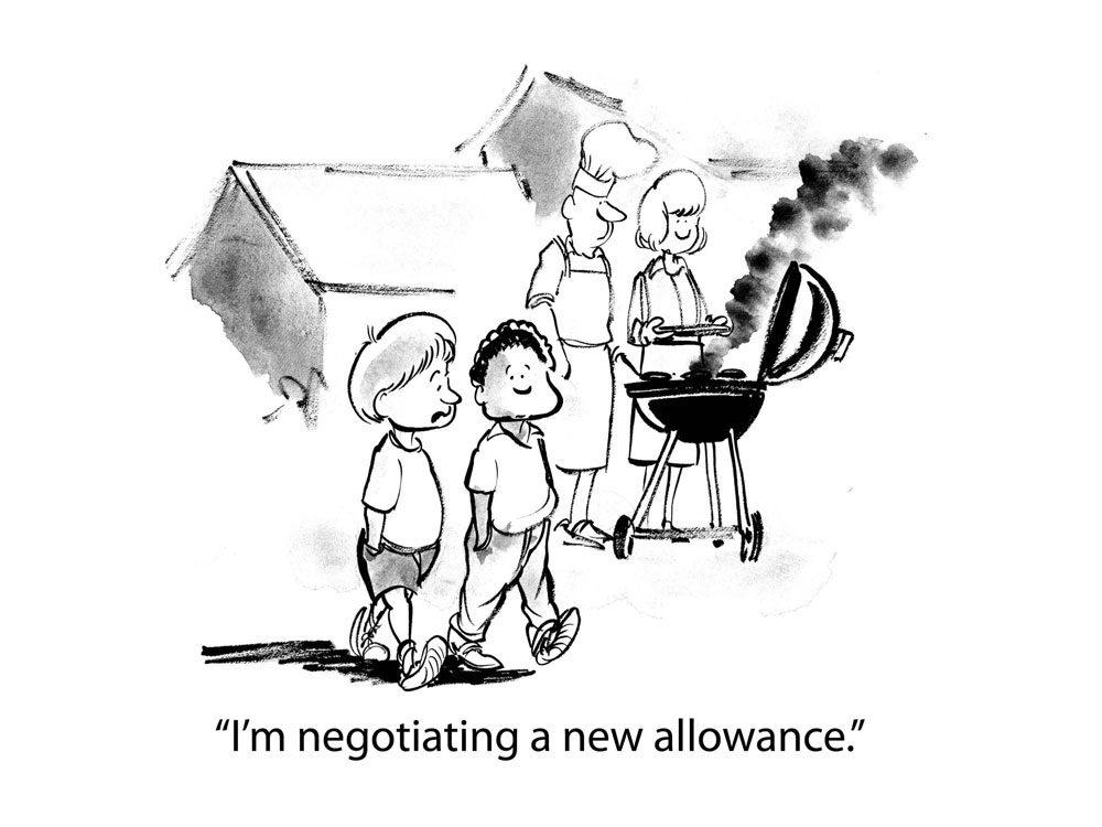 kids jokes allowance