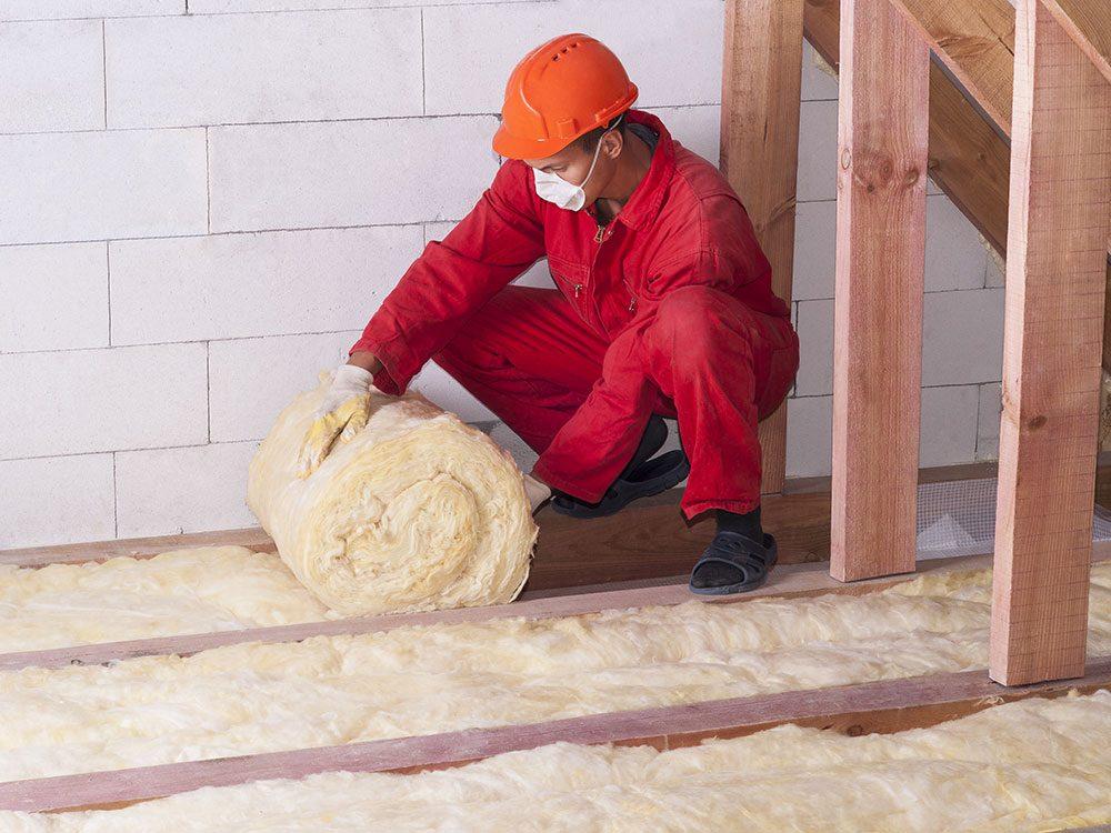 Save on summer utility bills - put in insulation