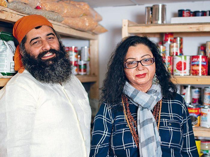 Vishal Khanna and Subhra Mukherjee