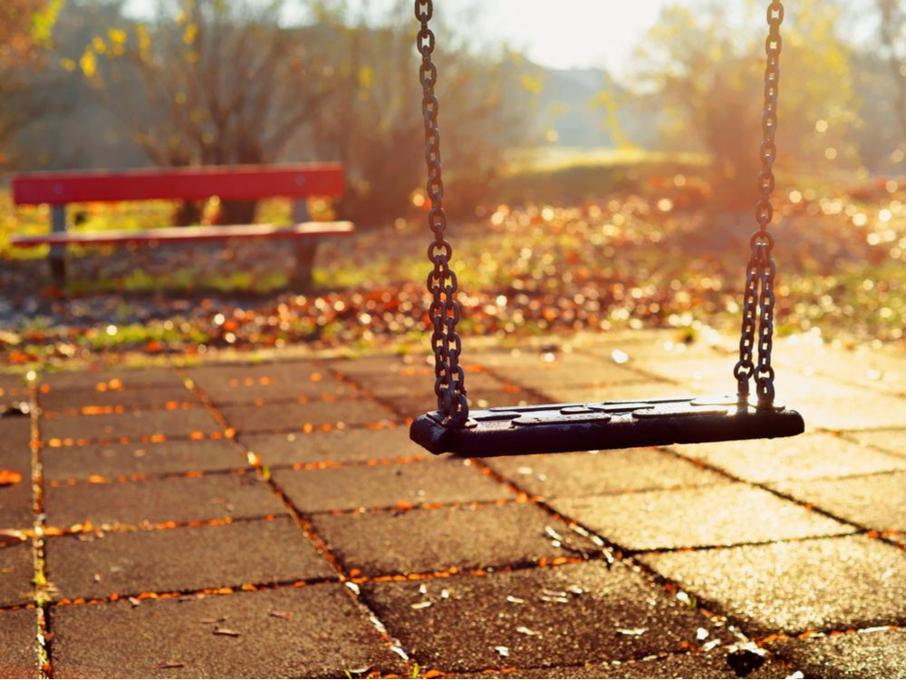 Swing at a local park