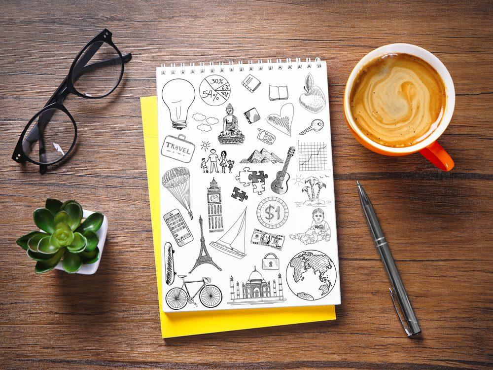 Sketch a doodle