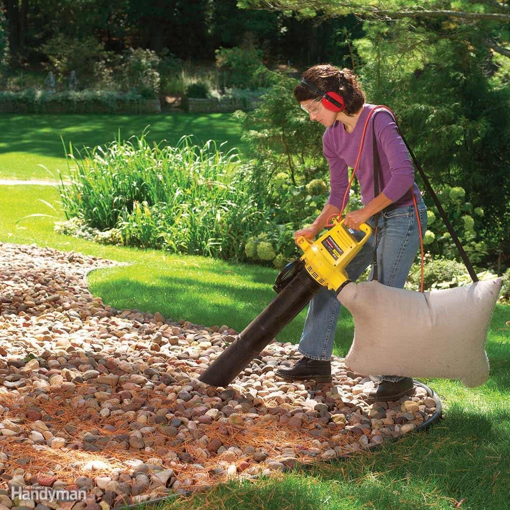 How Do I Keep My Stone Mulch Clean?
