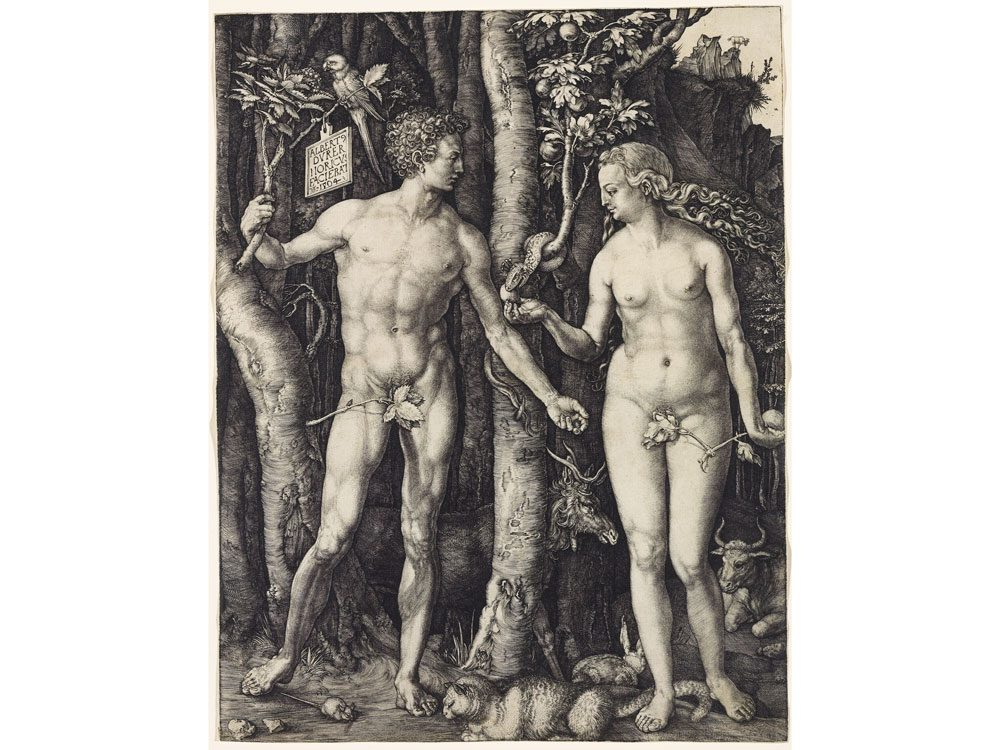 Durer adam and eve