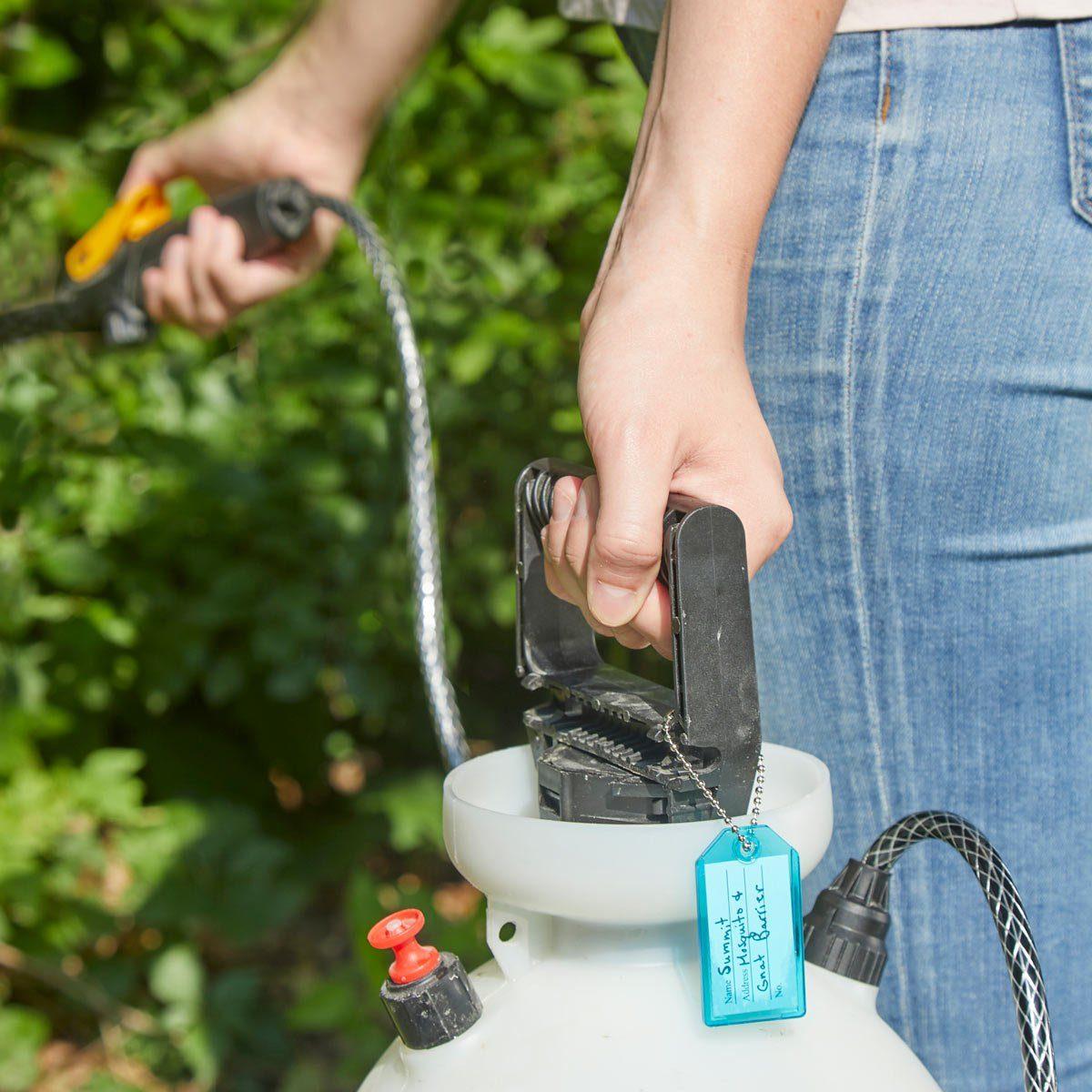 HH Garden sprayer labels