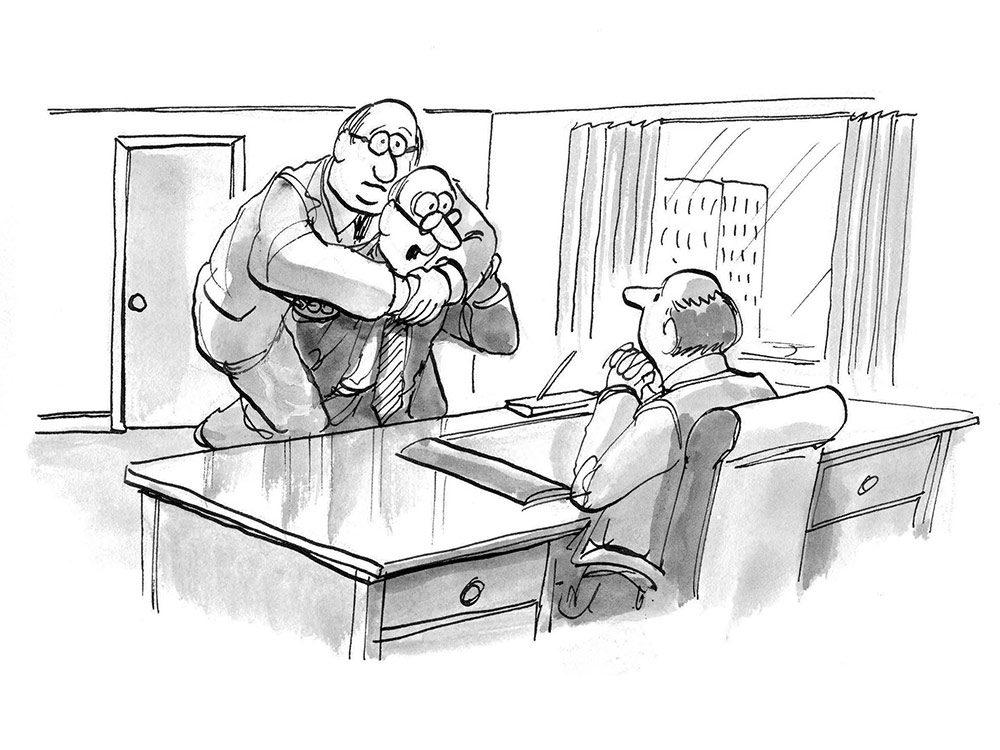 Hilarious work cartoons
