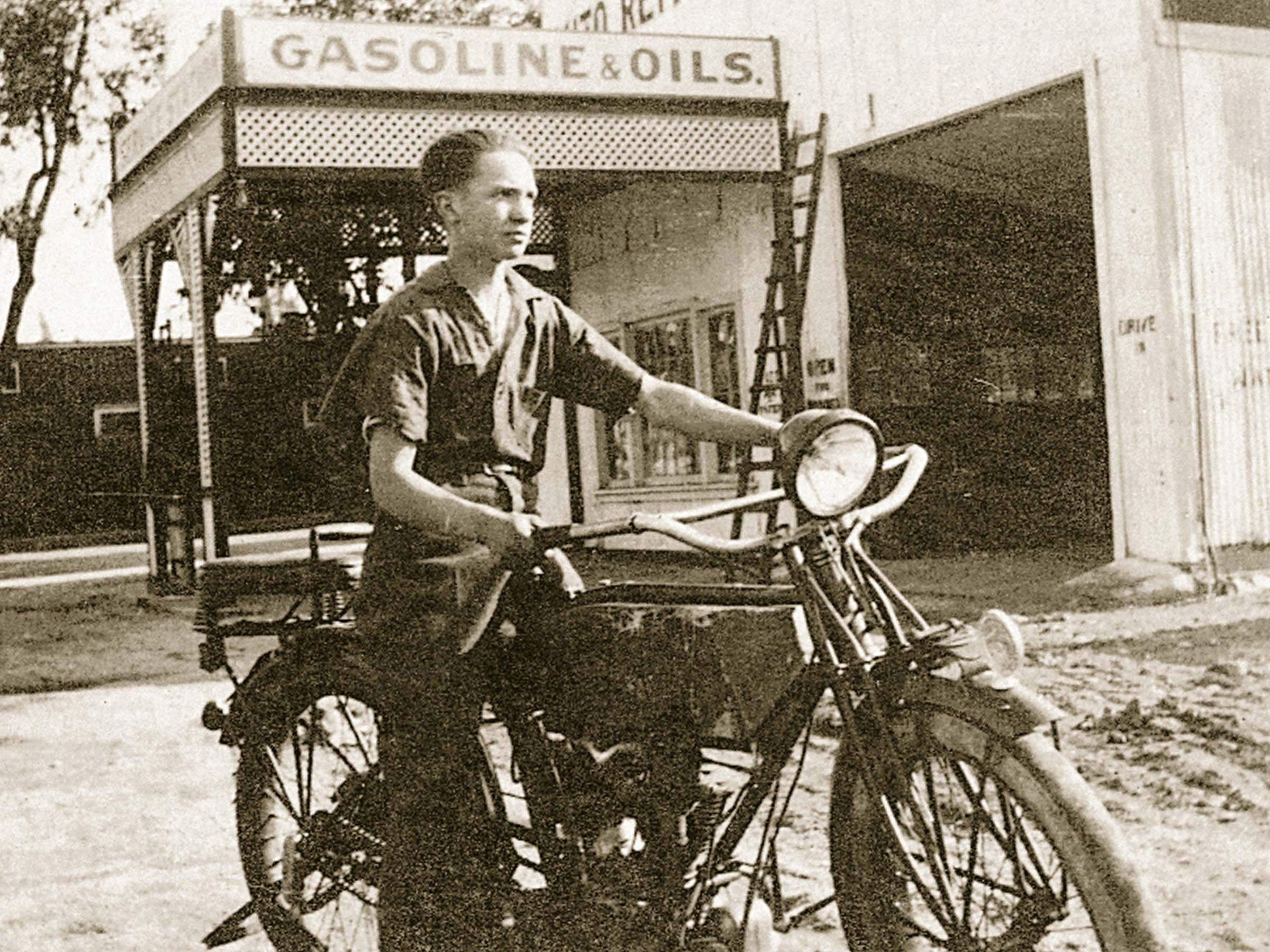 vintage motorcycle