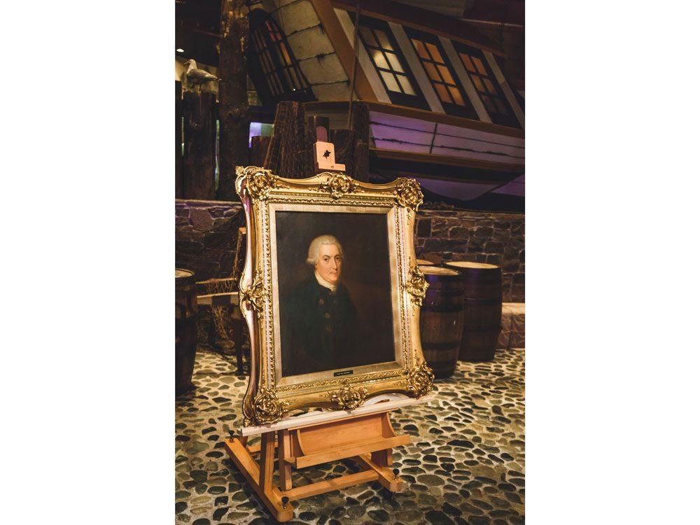 Royal B.C. Museum - George Vancouver portrait