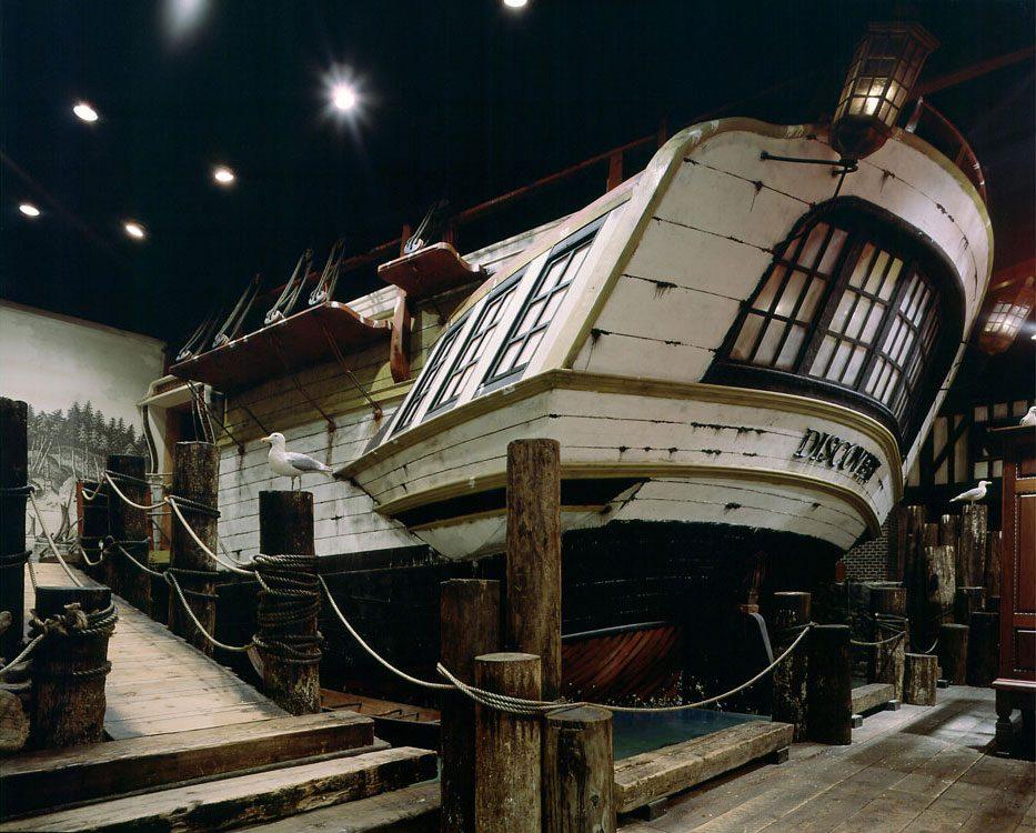 Royal B.C. Museum - HMS Discovery
