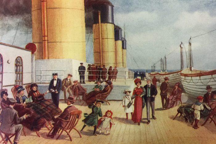 titanic ship deck
