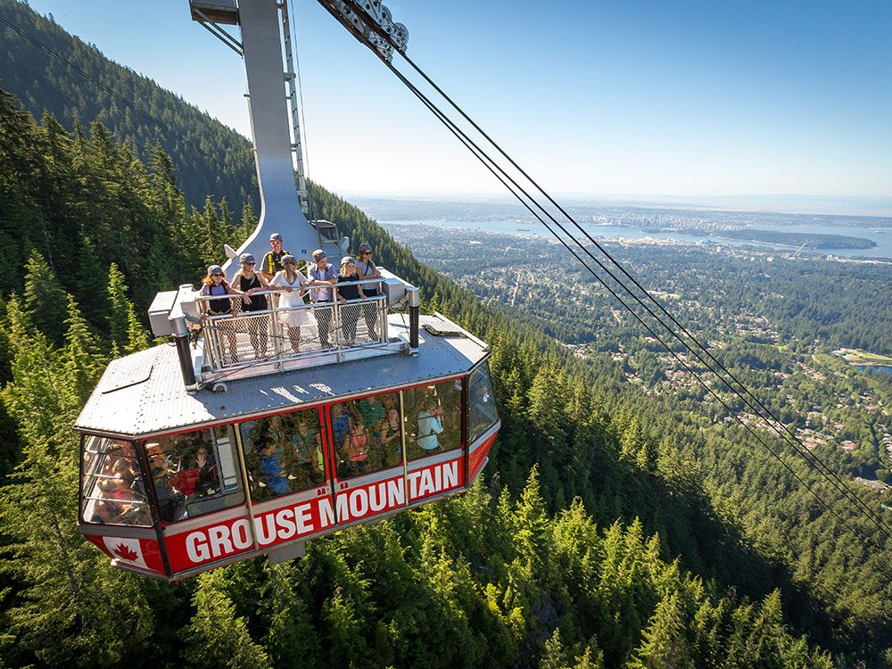 Best day trips from Vancouver - Grouse Mountain