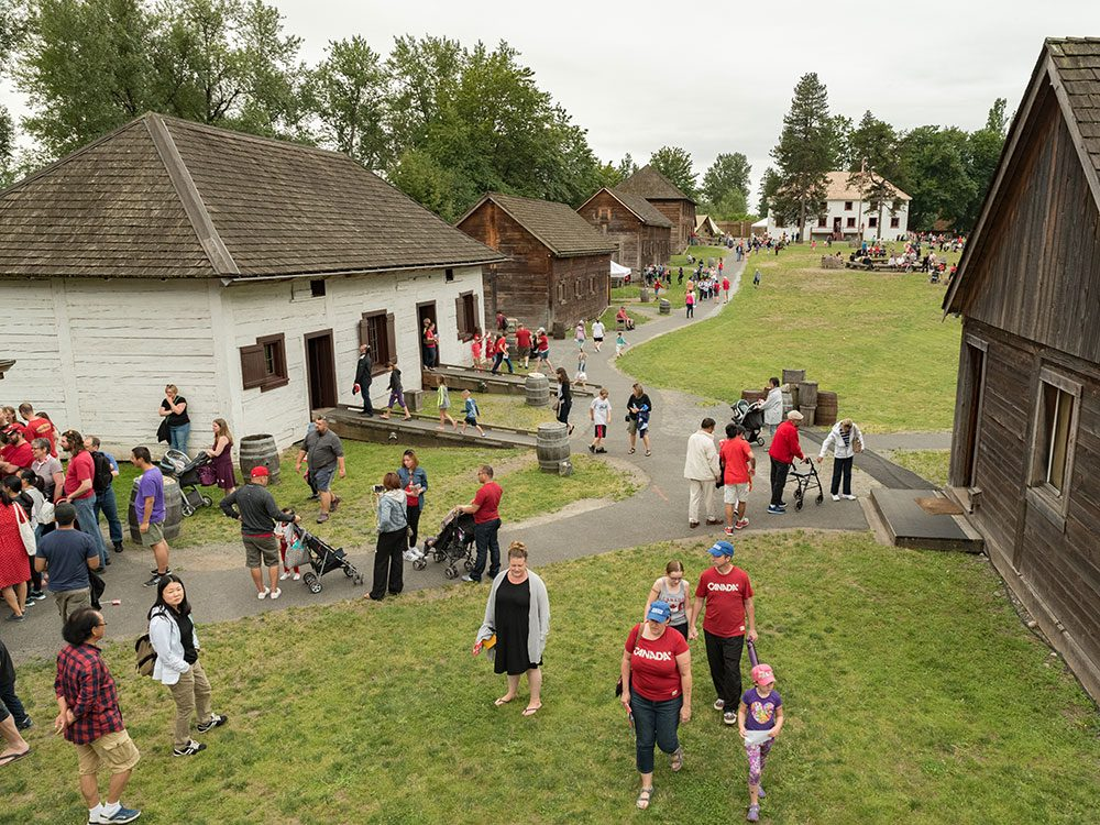 Best day trips from Vancouver - Fort Langley BC