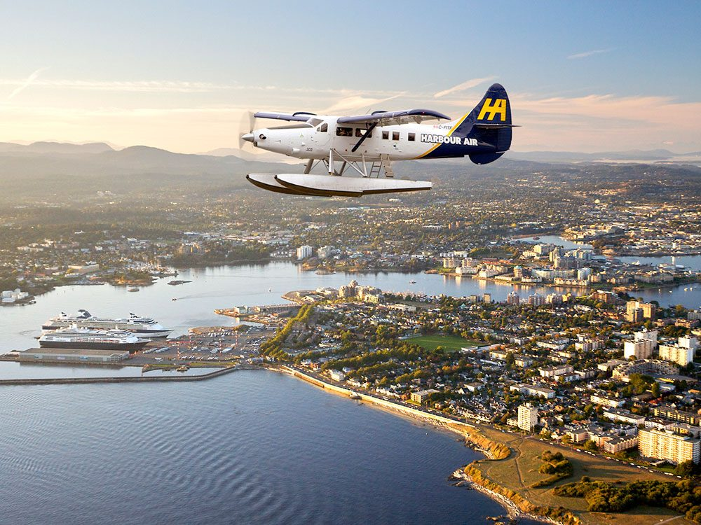 Best day trips from Vancouver - Victoria via Harbour Air