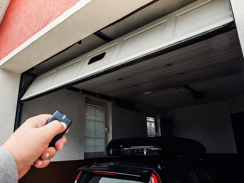Car security tips - park in the garage