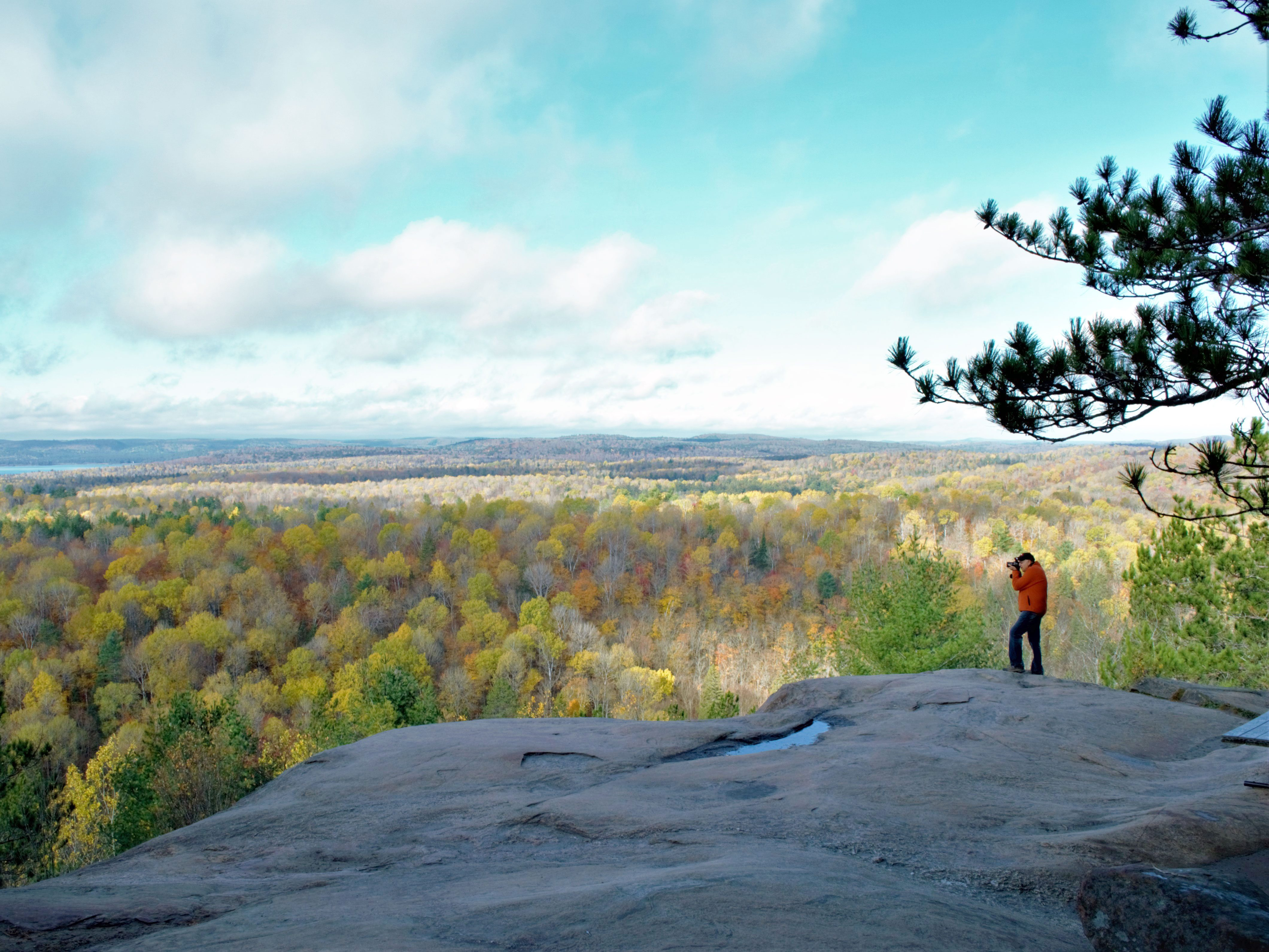 Day trips from Ottawa - Algonquin Park Lookout trail