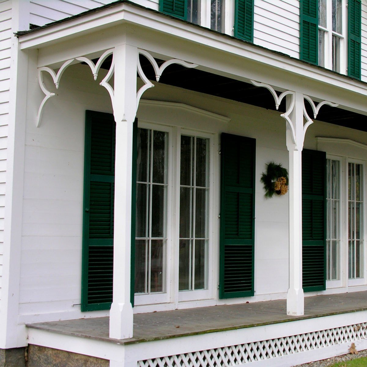 salvage wooden porch beams