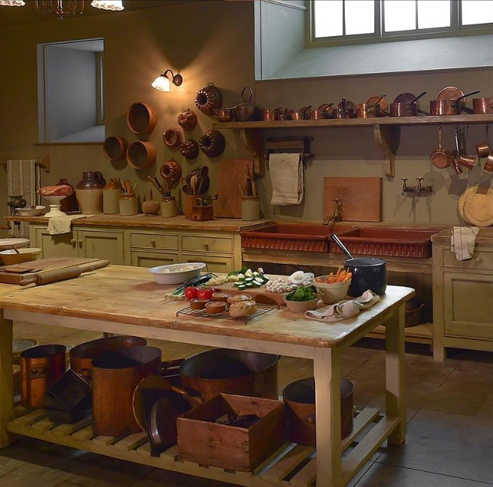 Downton Abbey kitchen set