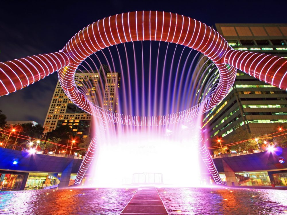 fountain of wealth Singapore