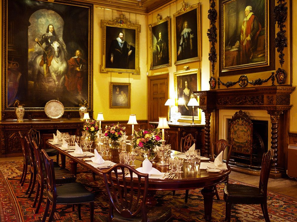 Highclere Castle - Dining Room